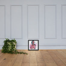 Load image into Gallery viewer, Slippery — Framed Art Print
