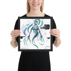 Wisp — Framed Art Print
