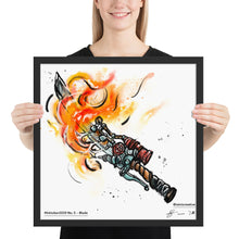 Load image into Gallery viewer, Blade — Framed Art Print