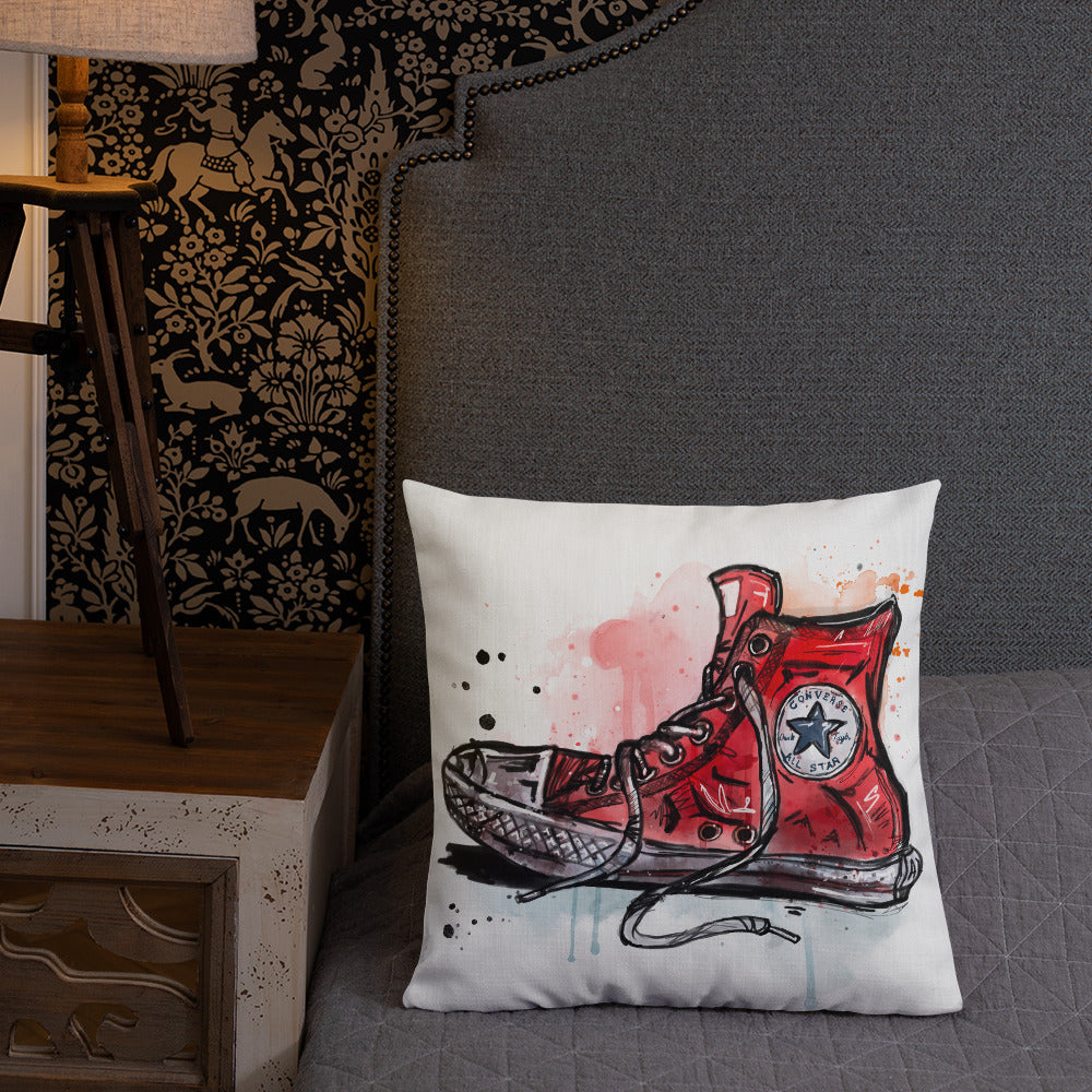 Shoes — Throw Pillow