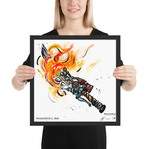 Blade — Framed Art Print