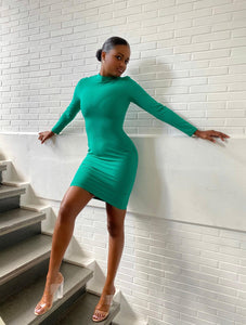 Emerald Bodycon dress