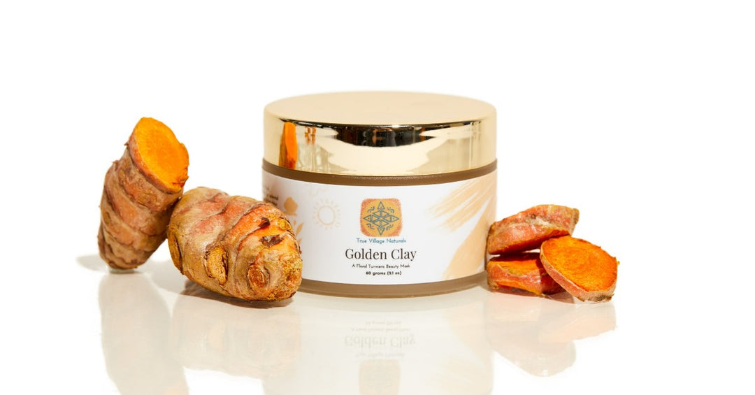 Golden Clay Heirloom Turmeric Mask