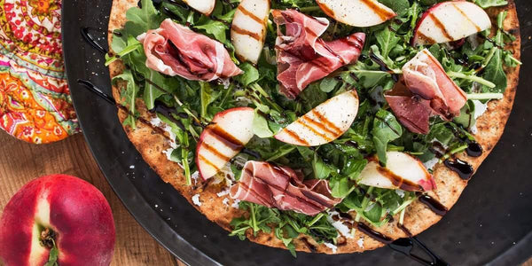 Goat Cheese & Balsamic Pizza - Angelic Bakehouse