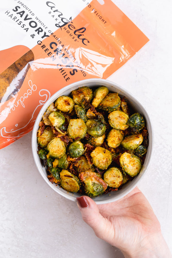 Crispy Baked Brussels Sprouts