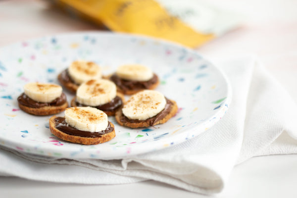Easy Nutella Banana Bites