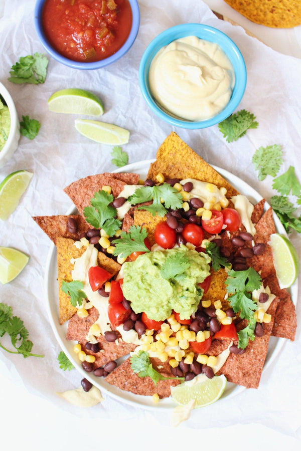 Easy & Healthy Homemade Nachos - Angelic Bakehouse