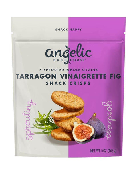 Tarragon Vinaigrette Fig Snack Crisps