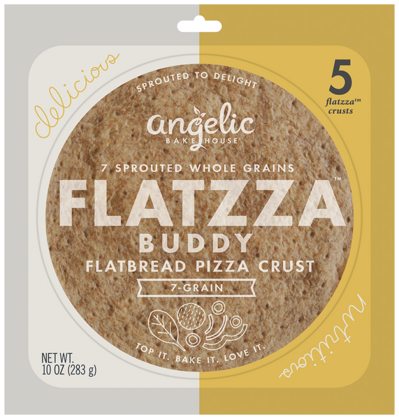 Flatzza® Whole Grain Buddy Crusts