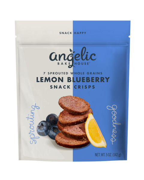 Lemon Blueberry Snack Crisps
