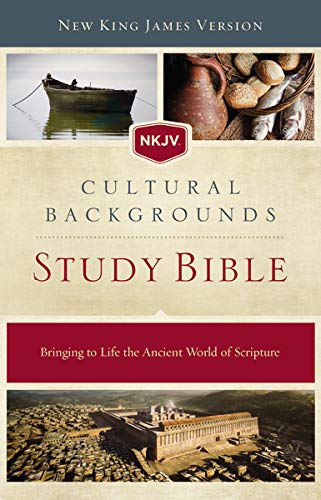 NKJV, Cultural Backgrounds Study Bible, Hardcover, Red Letter Edition: Bringing to Life the Ancient World of Scripture Hardcover