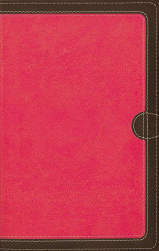 NIV, Thinline Bible, Compact, Leathersoft, Pink/Brown, Red L Imitation Leather – Special Edition,