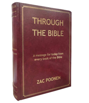 Through The Bible (English) - Zac Poonen Hardcover