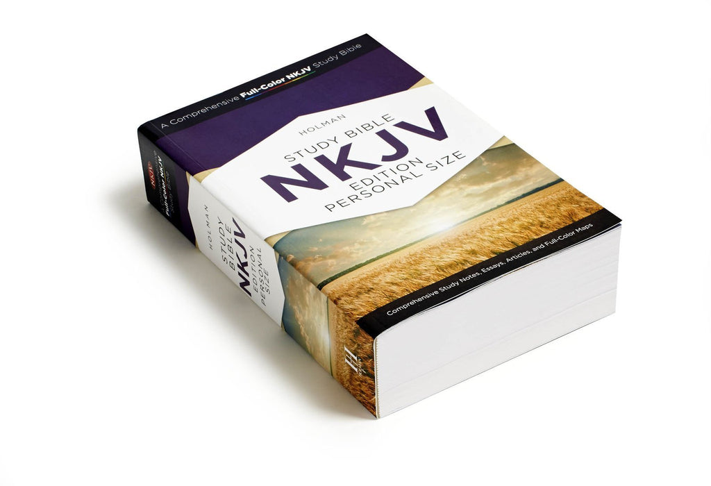 NKJV Holman Full-Color Study BibleEdition Personal Size Paperback – Import