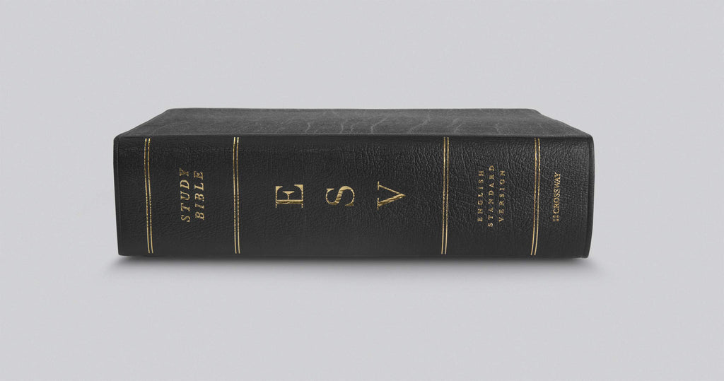 ESV Study Bible, Large Print Leather Bound – ESV Genuine Leather Large Print,