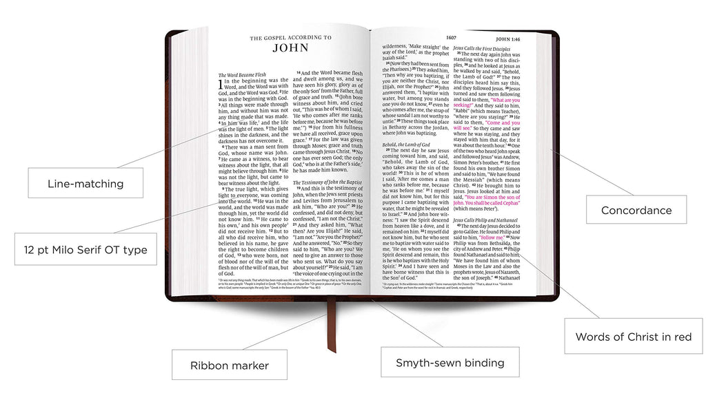 ESV Large Print Personal Size Bible Imitation Leather – Large Print