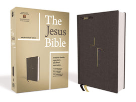 The Jesus Bible, ESV Edition, Cloth over Board, Gray Hardcover – Import, 12 March 2019