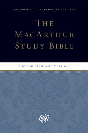 ESV MacArthur Study Bible, Personal Size Hardcover