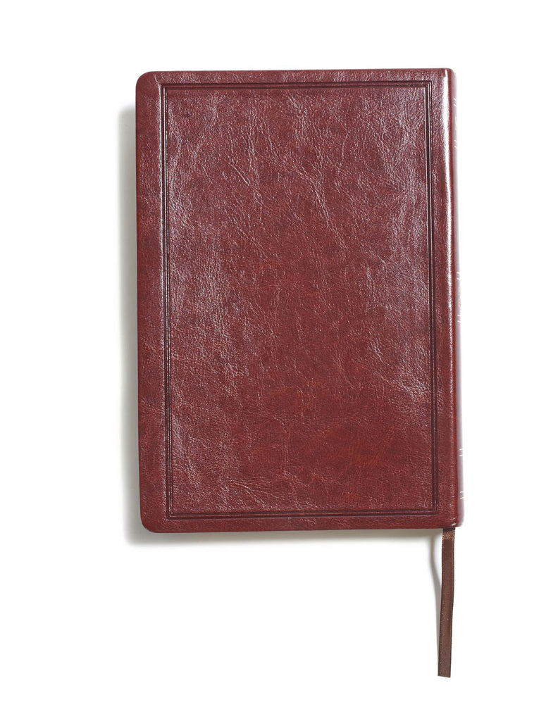 KJV Large Print Ultrathin Reference Bible, Brown LeatherTouch Imitation Leather – Large Print,