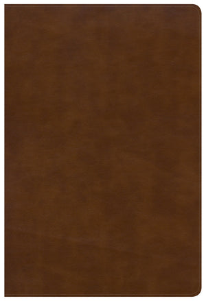 NKJV Large Print Ultrathin Reference Bible Black Letter Edition, British Tan LeatherTouch Imitation Leather – Large Print
