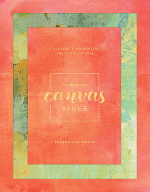 Message Canvas Bible - Journal and coloring bible