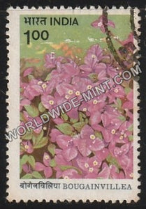 1985 Bougainvillea-H. B. Singh Used Stamp