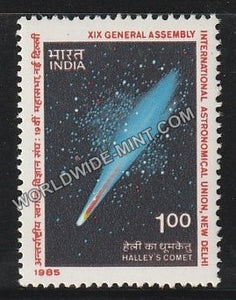 1985 XIX General Assembly International Astronomical Union, New Delhi MNH
