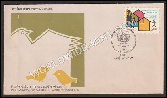 1987 International Year of Shelter for the Homeless FDC