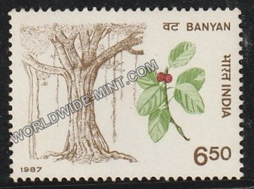 1987 Indian Trees-Banyan MNH