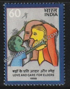 1988 Love and Care for Elders MNH