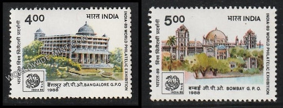 1988 India-89-Set of 2 MNH