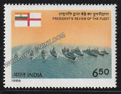 1989 President's Review of the Fleet MNH