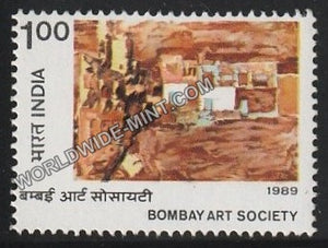 1989 Bombay Art Society MNH