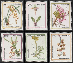 1991 Orchids-Set of 6 MNH
