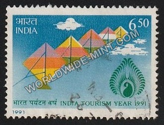 1991 India Tourism Year 1991 Used Stamp