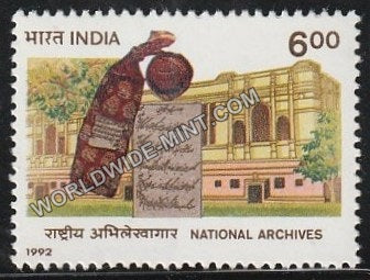 1992 National Archives MNH