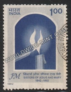 1992 Sisters of Jesus & Mary Used Stamp