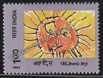 1992 Childrens Day MNH