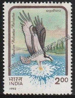 1992 Birds of Prey-Pandion haliaetus-Osprey MNH