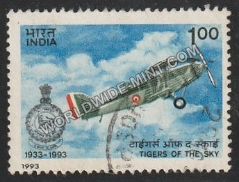 1993 1 SQN of IAF Used Stamp