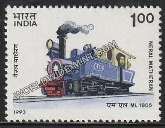 1993 Mountain Locomotives-Neral Matheran MNH