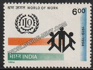 1994 ILO World of Work MNH