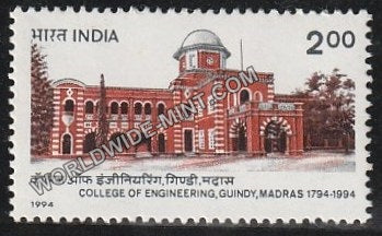1994 College of Engineering. Guindy, Madras MNH
