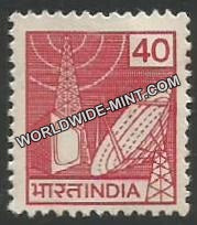 INDIA TV Broadcasting 7th Series(40) Definitive MNH