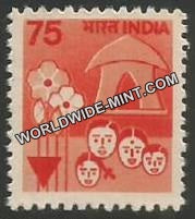 INDIA Family Planning 7th Series(75) Definitive MNH