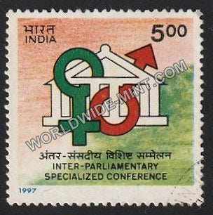 1997 Inter-Parliamentary Specialized Conference Used Stamp