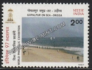 1997 Beaches of India-INDEPEX '97-Gopalpur on Sea - Orissa MNH