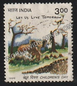 1999 Children's Day Used Stamp