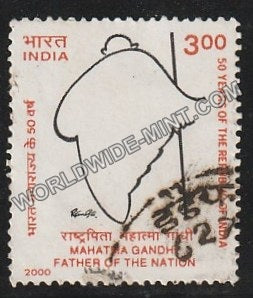 2000 Mahatma Gandhi Father of the Nation Used Stamp
