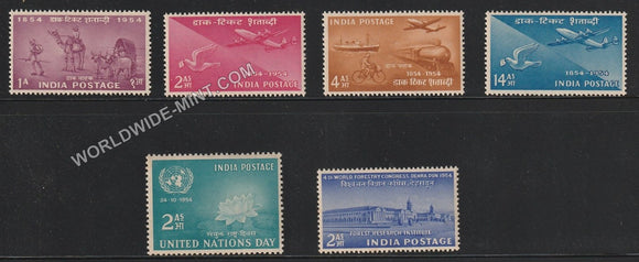 1954 Complete Year Pack MNH